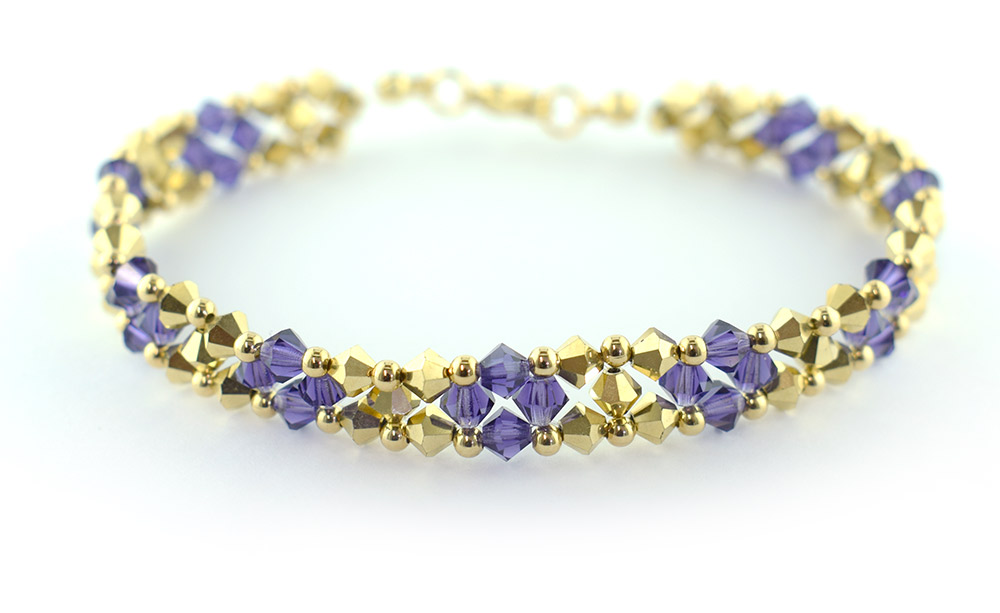 Preciosa crystal right angle weave bead