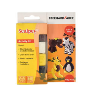 sculpey safari clay activity kit