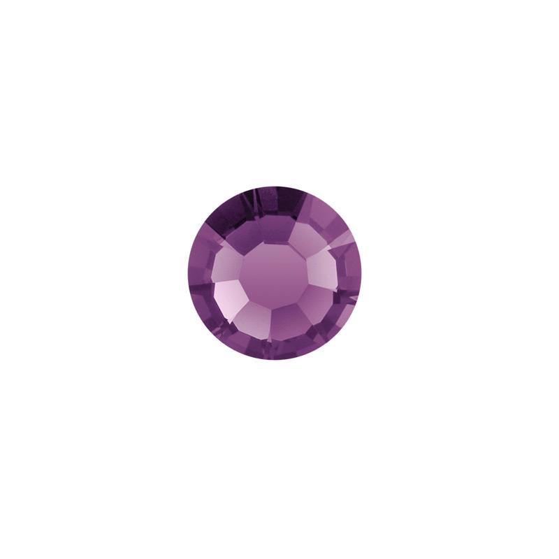 4.5mm Amethyst Preciosa Crystal Diamante