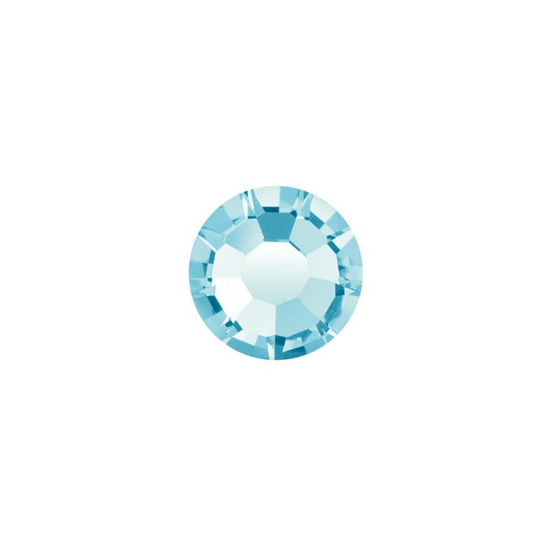 4.5mm Aqua Bohemica Preciosa Crystal Diamante