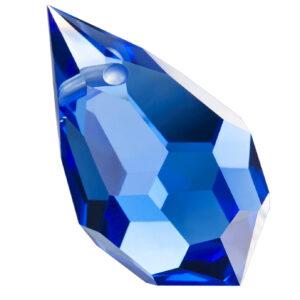 Preciosa Crystal Sapphire Drop Pendant