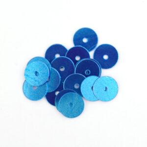 6mm Flat Round Sequins 7140 Light Blue