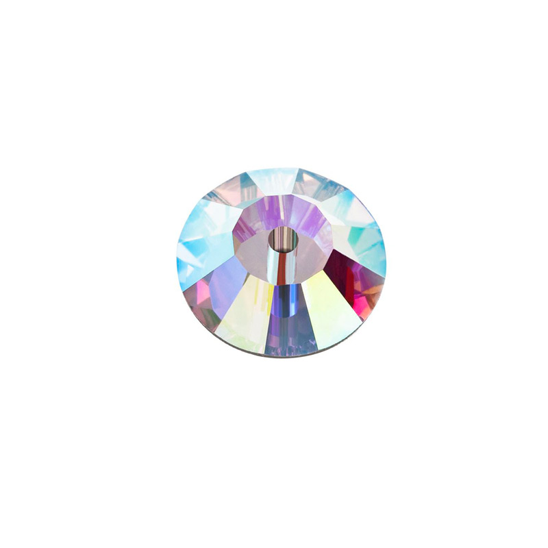 6mm crystal ab sew on bead from preciosa
