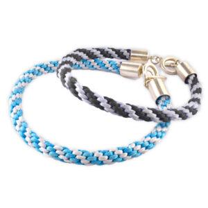 Kumihimo bracelets cool examples