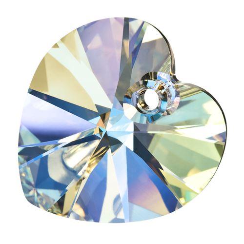10mm heart pendant preciosa crystal