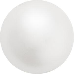 White Preciosa Crystal Pearls