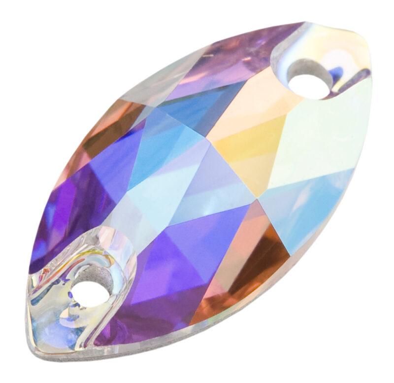 preciosa crystal oval navette sew on crystal