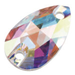 preciosa crystal pear navette sew on crystal