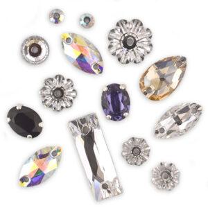Preciosa Crystal Sew on Stones