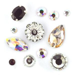 Preciosa Crystal Diamantes & Sew-on Stones