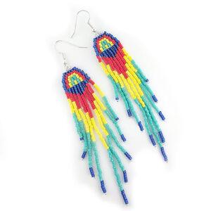 Summer Rainbow Fringe Earring kit