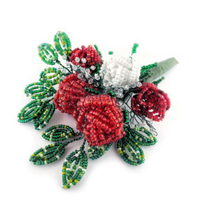 Beaded Roses workshop at The Bead Shop Nottingham
