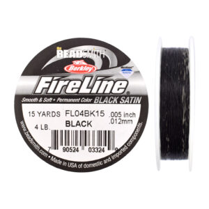 fireline 4LB black 15yards