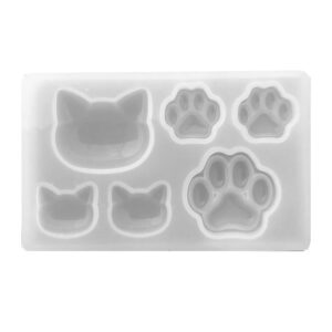 silicon cat mould for resin
