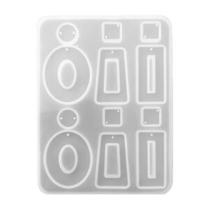 silicone resin mold for earring jewellery making