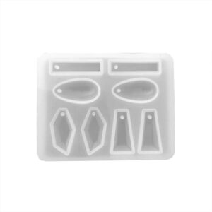 silicone resin mould for earring making