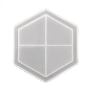 sillicon hexagon coaster mould