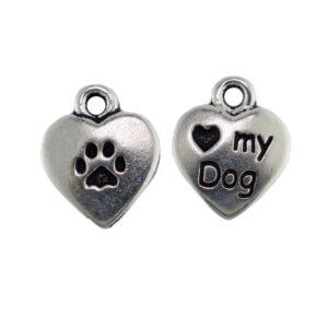 Love my dog charm from tierracast