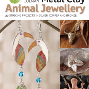 Metal Clay Animal Jewellery by Natalia Colman
