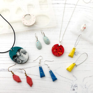Jesmonite Jewellery Workshop
