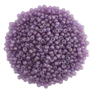 size 8 Lavendar miyuki seed beads 2377