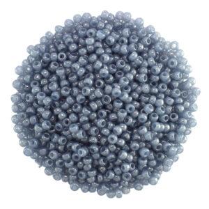 size 8 slate miyuki seed beads 2378