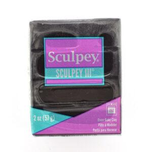 sculpey 2oz III black