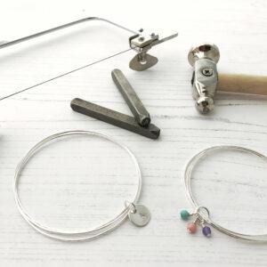 Personalised Silversmithing Bangle workshop