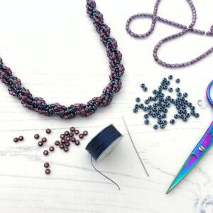 Spiral Stitch Necklace Workshop