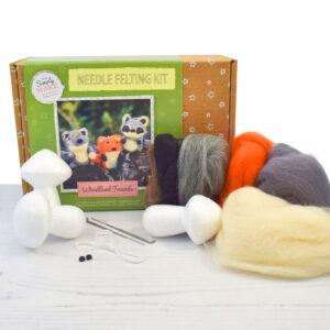 Woodland Friends Needle Felting Kit